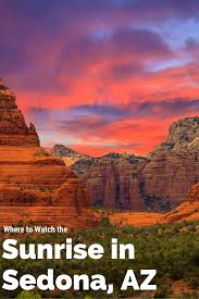 sedona arizona best places to watch the sunrise in sedona orchard canyon on oak creek