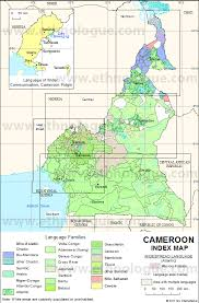 map of cameroon cameroon maps ethnologue