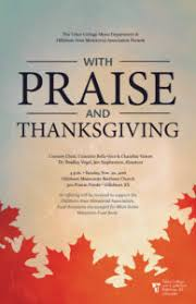 tabor performs with praise thanksgiving tabor college