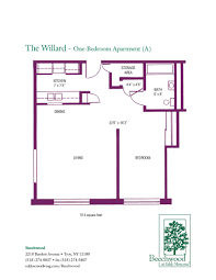 Floorplanes Floor Plans For Beechwood Senior Apartments 1 And 2 Bedroom