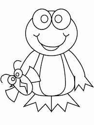 happy frog coloring pages top child coloring d 826 unknown