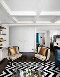 Black Accent Chairs For Living Room Gold Fretwork Chairs With Gold Pillows Contemporary Living Room
