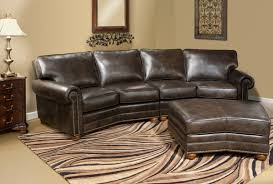 Curved Leather Sofas For Sale by Appealing Conversation Sofa Sectional 89 In Leather Sofa