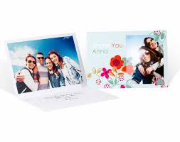 personalised greeting cards 10 cards envelopes cewe photoworld