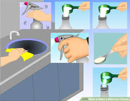 What To Clean A Bathtub With How To Make A Bathroom Cleaner 7 Steps With Pictures Wikihow