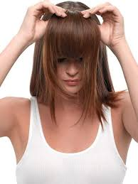clip on bangs clip in bangs by hairdo hair extensions