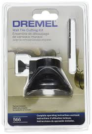 dremel 566 tile cutting kit amazon com