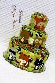 Baby Woodland Animals Baby Shower - blog about baby diaper cakes by dianna u0027s diaper cakes baby