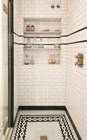 Hexagon Tile Bathroom Floor by A House With A Cool Design White Subway Tiles Subway Tiles And