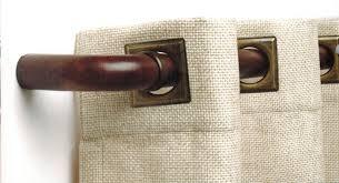 Return Rod Curtains Curved Return Elbows Pair For 1 3 8 Diameter Wood Rod