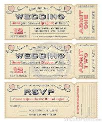 ticket wedding invitations vector wedding invite tickets wedding wedding