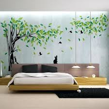 home decor wall pictures wall sticker home decor exceptional large green tree wall sticker