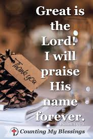 a psalm to pray that will bless your thanksgiving blessings