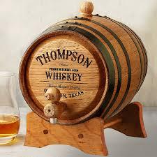 personalized mini oak whiskey barrel wine enthusiast