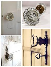 sea glass door knobs exterior doors house appeal