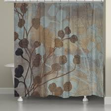 curtains brown and gray shower curtain brown chevron shower