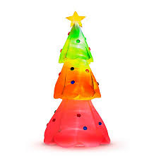 Large Inflatable Christmas Decorations by Giant Inflatable Color Changing Christmas Tree Improvements Catalog