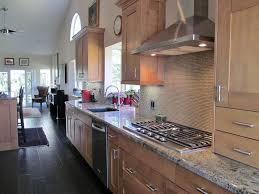 contemporary kitchen with breakfast bar u0026 high ceiling in vista