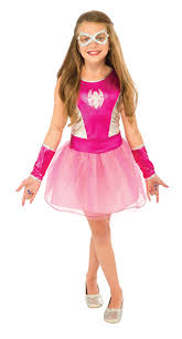 marvel pink spider girls u0027 child halloween costume walmart com