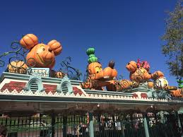 halloween archives in disneyland