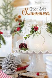jar table decorations 30 christmas table decoration ideas christmas celebration