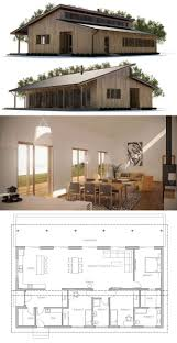 small shed roof house plans hahnow