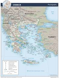 Map Of Ancient Greece And The Aegean World by