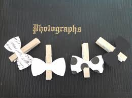 bow tie clothespin baby shower decoration dont say baby game