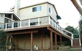 wrap around deck plans two deck plans high elevation decks three deck plans