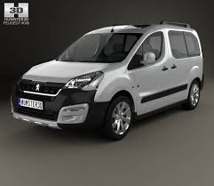 peugeot cars models peugeot partner tepee outdoor 2015 3d model hum3d