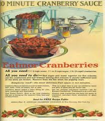 how advertising made turkey and cranberry sauce into thanksgiving