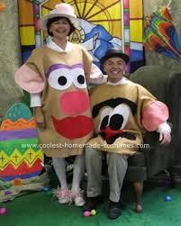 Potato Head Halloween Costume 10 Images Potato Costume Disney