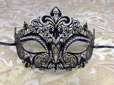 rhinestone mardi gras mask laser cut metal venetian masquerade mask w clear