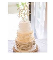 wedding cake name swirls andrew wedding cake toppernames on cakecustom