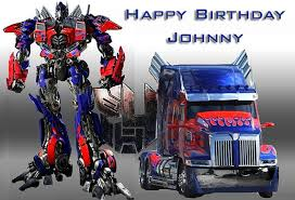 transformers bumblebee and optimus party cake topper transformers birthday cake topper optimus prime bumble bee