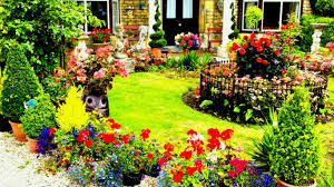 jual wallpaper laptop house sculptures garden english colorful blossoms lawn flower hd