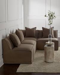 Sofa Bergen Carson Armless Taupe Sectional Sofa