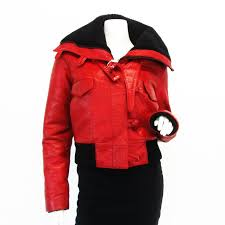 red motorcycle jacket balenciaga red motorcycle jacket closet full of cash
