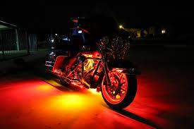 white led motorcycle light kit motorcycle cruiser led light kit multi color led engine kit lite