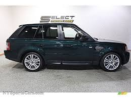 land rover sport 2013 2013 land rover range rover sport hse in aintree green metallic