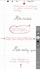 inkredible handwriting note android apps on google play