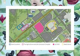 Tamu Campus Map Gardens Groundbreaking Parking And Location The Gardens At