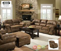 winsome comfortable black leather cuddler recliner on cozy berber