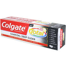 colgate total 12h charcoal deep clean toothpaste 150g 5 fl oz