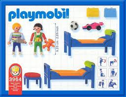 chambre d enfant playmobil 9b special maison personnage équipement intérieur 3964 chambre