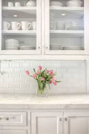 what size subway tile for kitchen backsplash beveled subway tile backsplash traditional kitchen allison