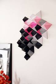 easy paper decors to spruce up plain and boring walls