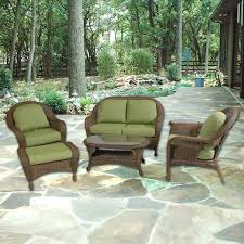Willowbrook Patio Furniture Willowbrook Deep Seating Wicker Collection Patio Furniture