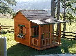 kids wooden outdoor playhouse outdoor furniture diy cool