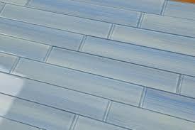 Blue Glass Tile Kitchen Backsplash Blue Glass Tile